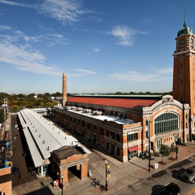 Ohio City's West Side Market, as seen through the lens of Barney Taxel.