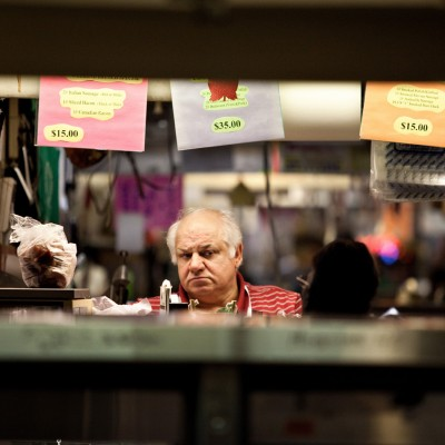Poignant portraits of the vendors of Cleveland Ohio's West Side Market by Barney Taxel.