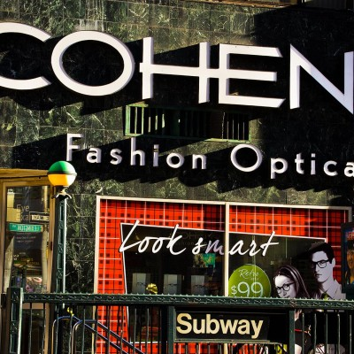 cohen's, new york city