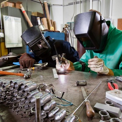 magnet, welding, metalwork with Barney Taxel