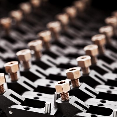 precision machining by commercial photographer Barney Taxel