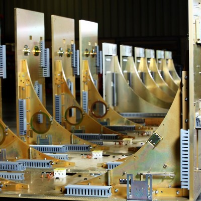 Precision machining, manufacturing and assembly captured by Barney Taxel at Telcon.